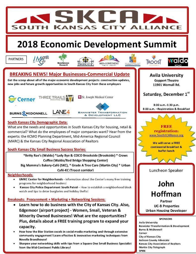 South Kansas City Alliance Economic Development Summit